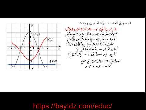 اختبار الفصل الاول في الرياضيات للسنة الاولى ثانوي رقم 19